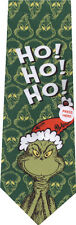DR. SEUSS HOW THE GRINCH  STOLE CHRISTMAS HO HO HO NEW NOVELTY TIE