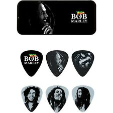 Jim Dunlop Bob Marley Collector Guitar Picks in Tin #BOBPT04H - Heavy