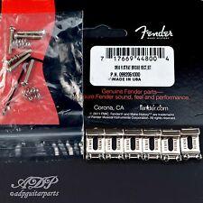 6x PONTETS VINTAGE FENDER CORDIER-TREMOLO STRAT Bridge Saddles 11,3mm 0992051000