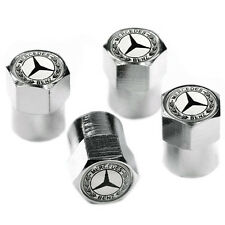 Mercedes Benz Wheel Valve Dust Caps. C180 C220 E-Class A180 etc