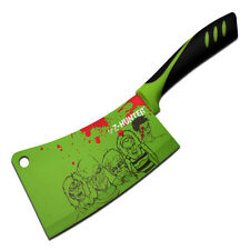"""12"""" ZOMBIE HUNTER Tactical Kitchen MEAT CLEAVER Chopping Chef Fixed Blade KNIFE"""