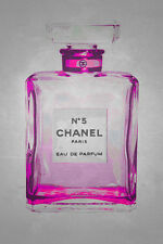 Chanel No. 5 in Pink 24x36 Poster Art Print GICLEE Edition by Kelissa Semple