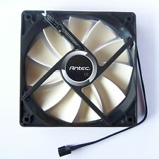 New Antec PWM PC Case Fan 120mm 12025 4 Pin Cooling Cooler Quiet Fluid 12V F02