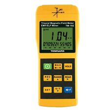 Triple 3-Axis TM-192 Gauss EMF Meter Electromagnetic Radiation Detector New