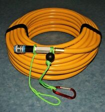 75' filtered/quick connect Hookah dive hose stamped air breathing  Limited SALE