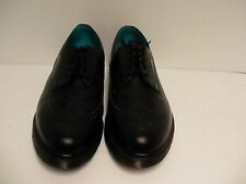 Men's DR Martens shoes casual oxford leather black blue size 12 us new