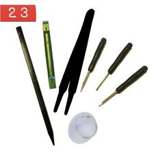8pc iPhone Repair Kit-Magnetic Pentalobe+Phillips-Flat Screwdrivers+Pry Tools