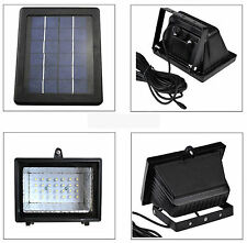 NEWEST Solar Powered Dusk-to-Dawn Sensor Outdoor Flood LED Light Lamp Waterproof