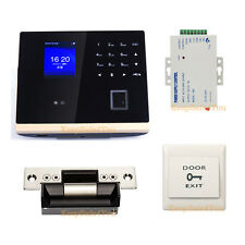 Bio Fingerprint and Facial Door Access Control System & Time Attendance Kits