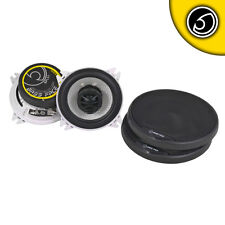 Bass Face 4 Inch 10cm 400w Coaxial Two Way Pair Car Door Dash Shelf Speakers