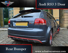 Audi A3 to Audi RS3 3 Door for Audi A3 8P 2004 to 2009 Rear Bumper Tuning