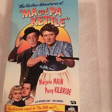 Ma and Pa Kettle VHS MCA Universal Used