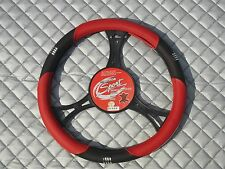 TO FIT A MERCEDES SPRINTER VAN STEERING WHEEL COVER 2010 SWC 24M RED LEATHERETTE