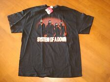 SYSTEM OF A DOWN GAS MASK HOTOP   vintage  DEADSTOCK  RARE shirt SZ YOUTH MEDIUM