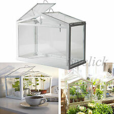 IKEA GREENHOUSE TABLE TOP IN/OUT DOOR WHITE STEEL FRAME HOME DECORATION SOCKER
