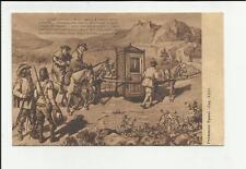 antica cartolina formato piccolo lecco i promessi sposi capitolo XXIII