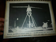 Dossier Giravions Dorand Rotor Hélicoptère DH-2011 Hélicopter Simulateur DX-47