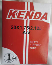 KENDA BICYCLE BIKE CYCLE BMX INNER TUBE SCHRADER VALVE 20 x 1.75/2.125