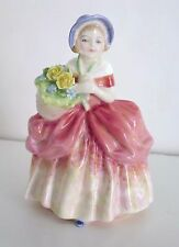 "Royal Doulton Girl Figurine CISSIE 5"" HN 1809 Bone China Made in England"