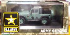 Green Light 1:43 scale Jeep Wrangler US Army Dark Green Combined Shipping