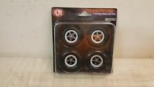 ACME 1:18 DRAG WHEEL AND TIRE SET FROM YANKEE PEDDLER - A1806502W - IN STOCK