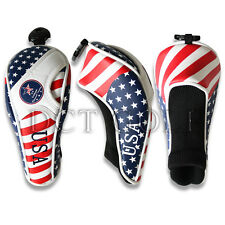 Craftsman US Flag Golf Hybrid Cover Headcover Rescue Cover