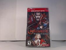 CASTLEVANIA DRACULA X CHRONICLES --- PSP Playstation Portable Complete CIB w/ Bo