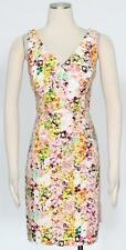 Jessica Simpson Flower Print Cotton Shift Dress Size 14 Women's New  *