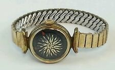 Vtg Ladies 1960s Original Ernest Borel KALEIDOSCOPE Dial Cocktail Watch