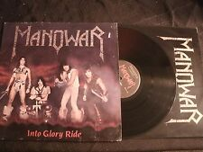 Manowar - Into Glory Ride - 1983 Orig. Megaforce Vinyl 12'' Lp./ VG+/ Metal