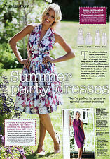 HALTER NECK Party DRESS Slim Full Skirt Prima Sewing Pattern 10 12 14 16 18 20