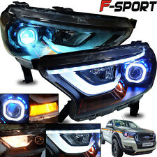 Fit 2015-2016 Ford Ranger F-Sport Facelift Ute Head Lamp Lights Projector LED