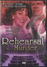 Rehearsal for Murder DVD, 2003 Catch the Killer, If You Can Thriller Mystery