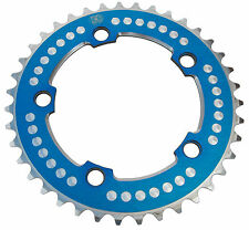 Chop Saw III BMX single speed bicycle 7075 alloy chainring 39T 110mm bcd BLUE