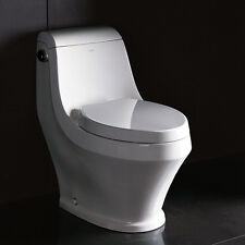ARIEL ADONIS TB133M MODERN ONE PIECE ELONGATED BOWL TOILET WITH SOFTCLOSE SEAT