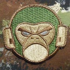 ANGRY MONKEY FACE LOGO COMBAT MILSPEC MULTICAM VELCRO® BRAND FASTENER PATCH