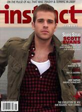 Instinct Magazine 12/09  gay - One Life to Live - SCOTT EVANS