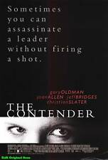 "MOVIE POSTER~The Contender 2000 Original 27x40"" Film Sheet Jeff Bridges Oldman~1"