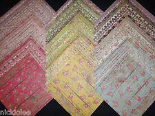 12x12 Scrapbook Paper Studio Barnwood Pretty Cottage Chic Girly Wholesale 60 Lot