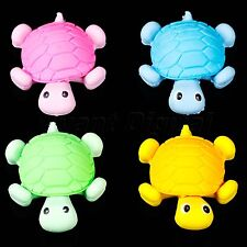 Cute Animal Turtle Eraser Rubber School Office Stationery Kids Funny Gift