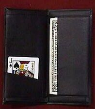 Himber Wallet (Imitation Leather) Pro Magic Trick Utility!