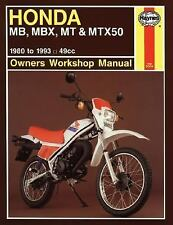 Honda MB5 '81'82 (Owners' Workshop Manual)-ExLibrary