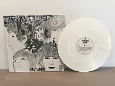 THE BEATLES - REVOLVER - BRAND NEW MARBLED WHITE COLORED VINYL LP RECORD