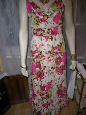 KALEIDOSCOPE PINK FLORAL MAXI  DRESS,  10, 12, 14, AND 16    RRP  £45 CLEARANCE