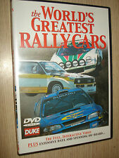 DVD THE WORLD'S GREATEST RALLY CARS IN LINGUA INGLESE