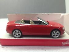 HO 1/87 Herpa # 24174  Audi A 5 Convertible - Red