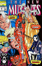 The New Mutants 98 8.0 VF First Appearance of Deadpool Direct Edition