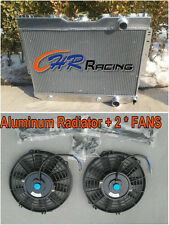 Aluminum Radiator + FAN 59 60 1961 1962 63 Chevy Impala/Bel Air / Biscayne 60-65