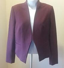 Womens Mario Serrani Blazer - Burgundy - Size 8 - NWT - Italian Made
