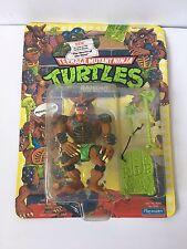 1991 TMNT Rahzar **Unpunched MOC** Vintage Teenage Mutant Ninja Turtles Playmate